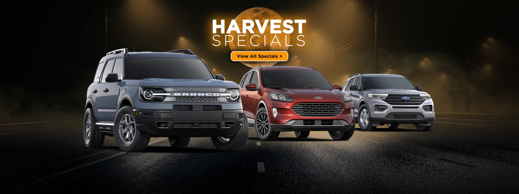 Ford October Harvest Specials