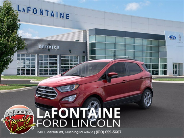 New 2021 Ford EcoSport SE FWD