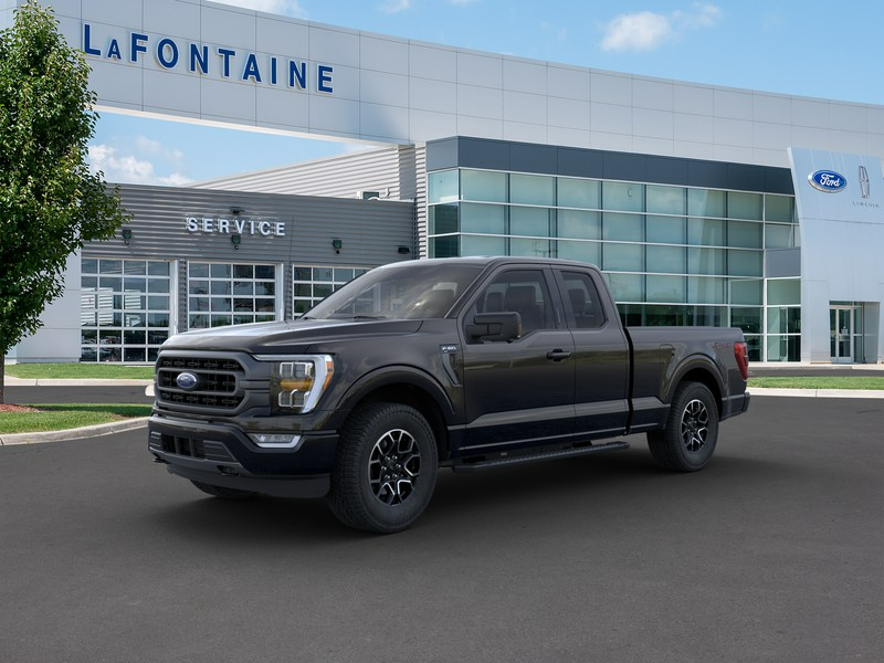 New 2021 Ford F-150 XLT 4WD SuperCrew