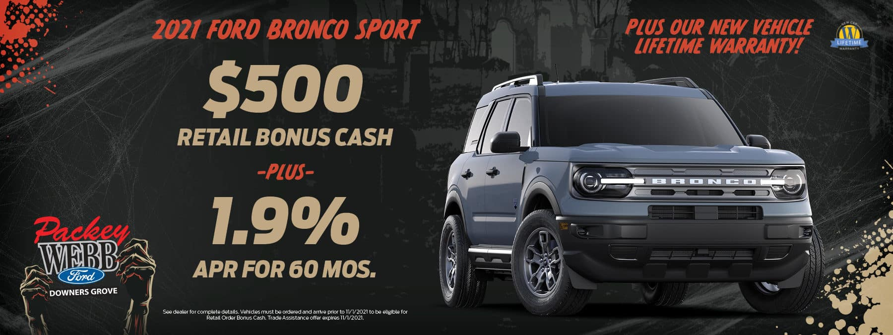 2021 Ford Bronco Sport   Packey Webb Ford   Downers Grove, IL