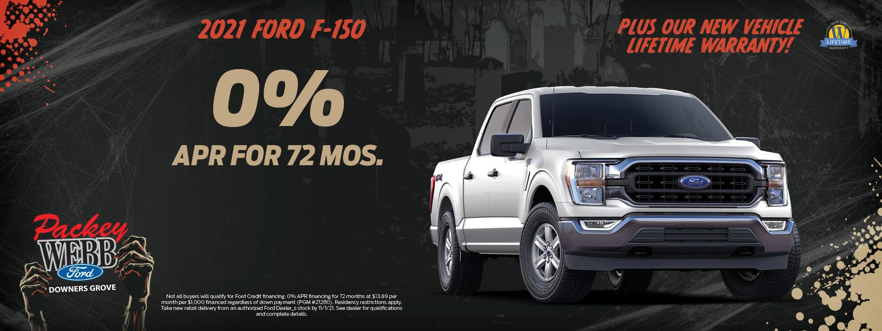 2021 Ford F-150 APR offer   Packey Webb Ford   Downers Grove, IL