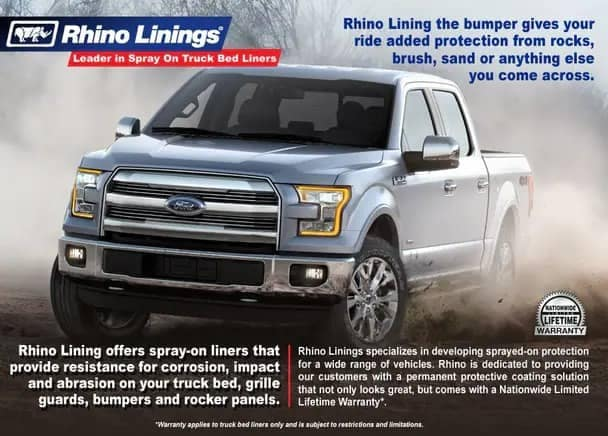 Rhino Linings Service Special