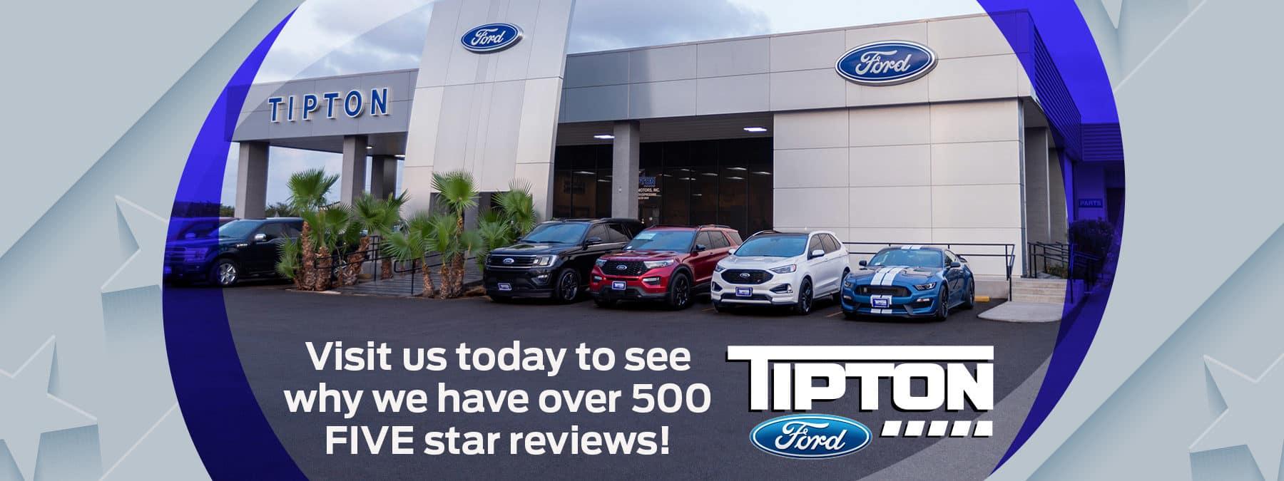 Tipton Ford Five Star Service   Brownsville, TX