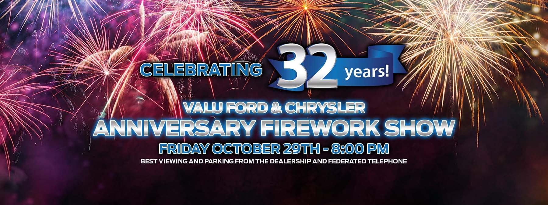 Anniversary Firework Show